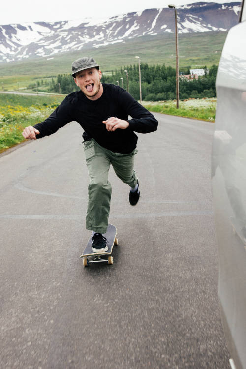 Meeting Icelandic Skaters