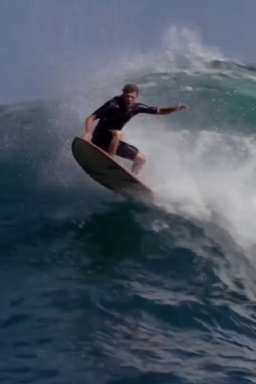 Soft Top Surfing at JAWS