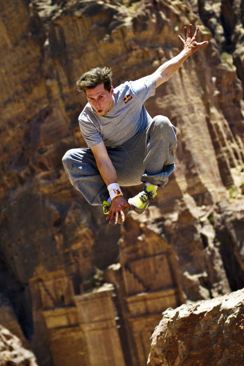 Freerunning in Jordan