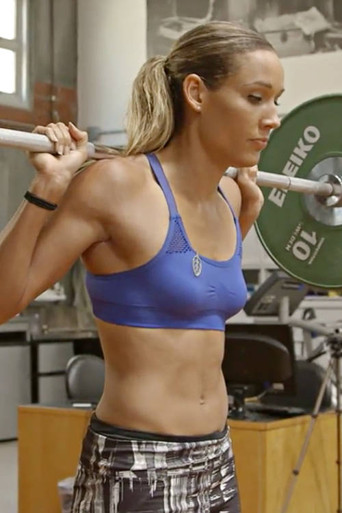 Lolo Jones flexes her trivia skills