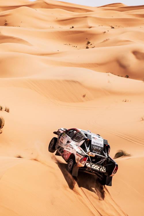 Nasser Al-Attiyah's Dakar car