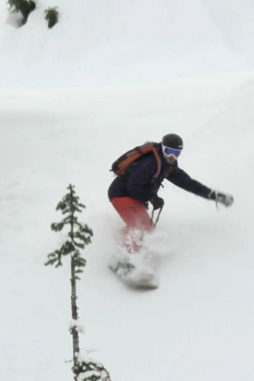 Noboarding and Japan Powder