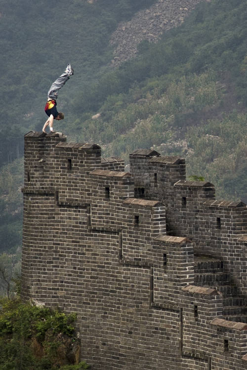Freerunning in China