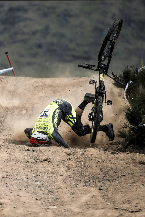 Downhill MTB Injury Risks