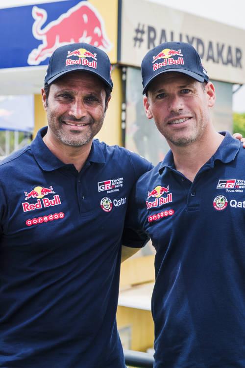 Nasser Al-Attiyah's Dakar team