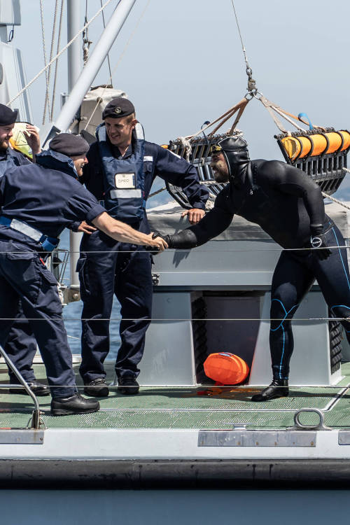 Taking on the Royal Navy