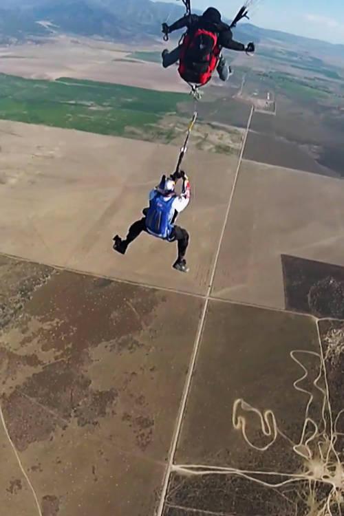 Zip line + Paraglide + Winch