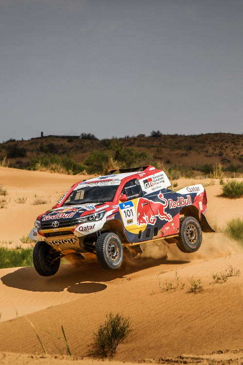 Preparing for Dakar 2019