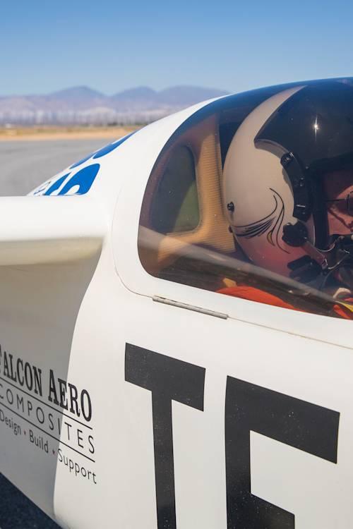 Mojave test pilot