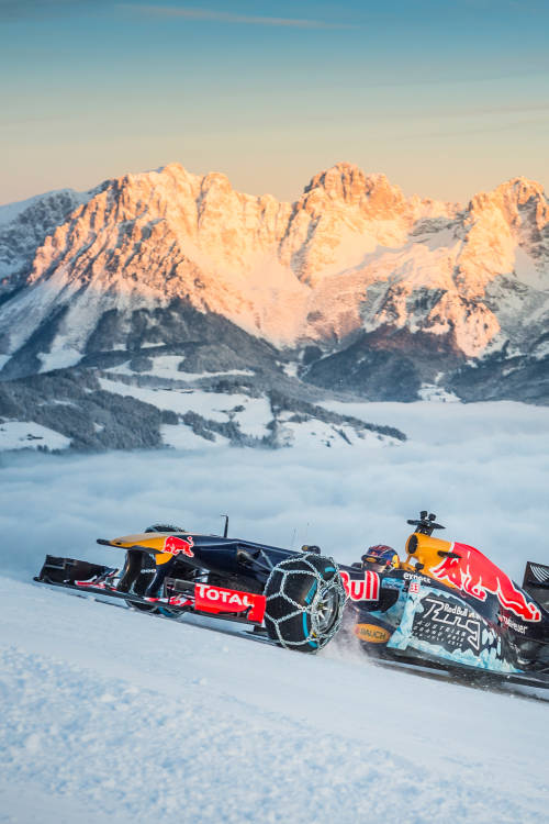 Red Bull Racing Show Run