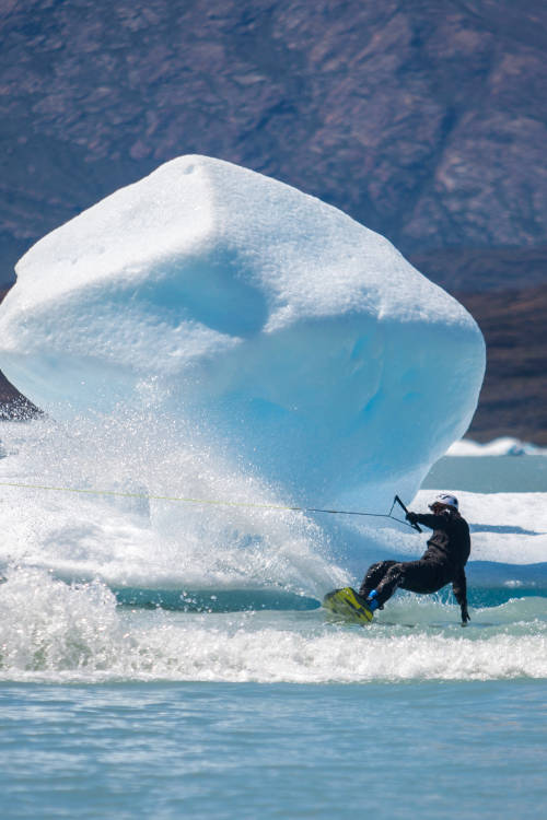 Wakeboard in Patagonia