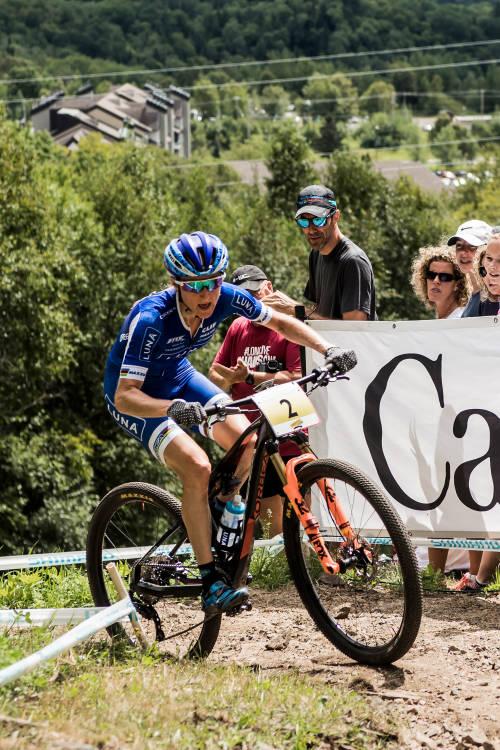 Women's XCO finals from Mont-Sainte-Anne