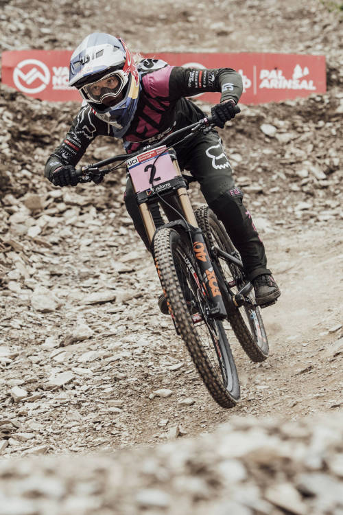 Women's Vallnord  DH finals