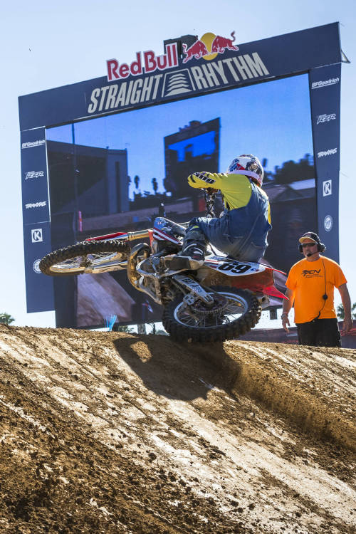 Red Bull Straight Rhythm Revealed