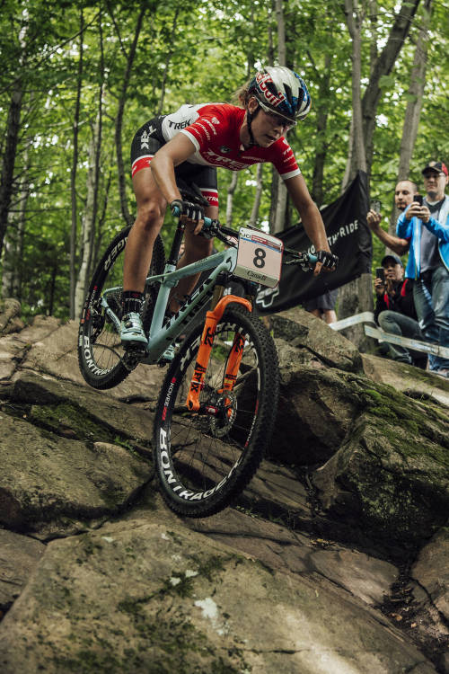 Women's XCO final, Mont-Sainte-Anne