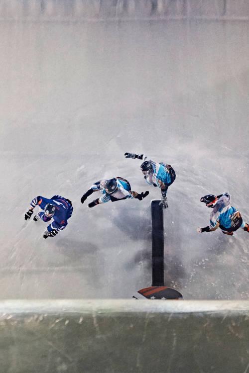 Inside Ice Cross Downhill