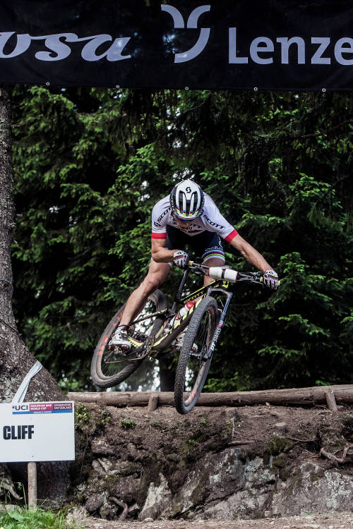 Men's XCO finals from Lenzerheide