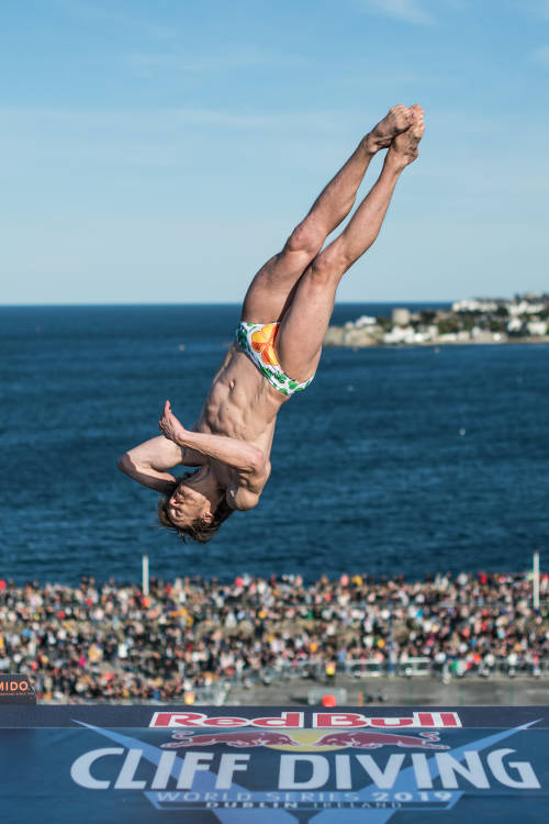 Red Bull Cliff Diving highlights from Ireland