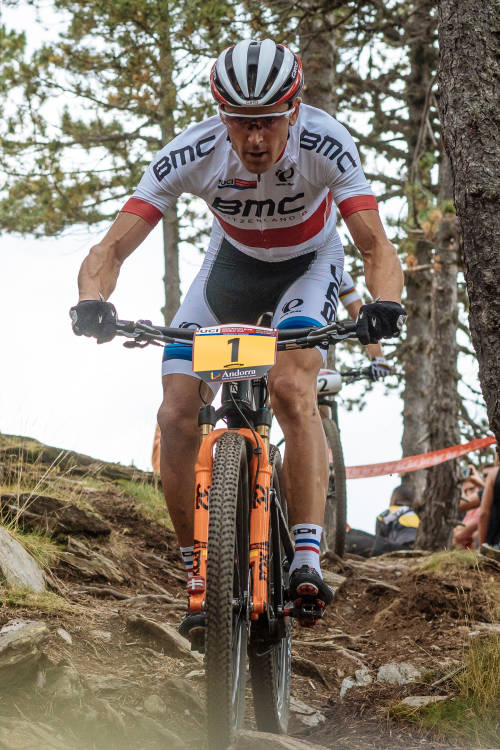Men's XCO finals from Vallnord