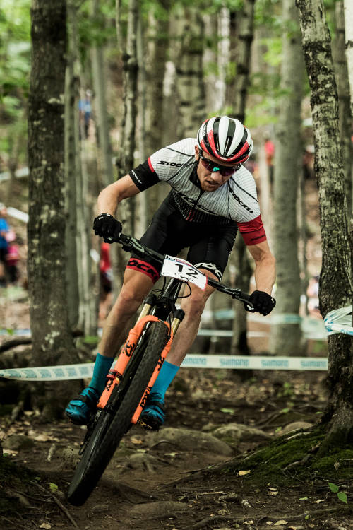 Men's XCO finals from Mont-Sainte-Anne