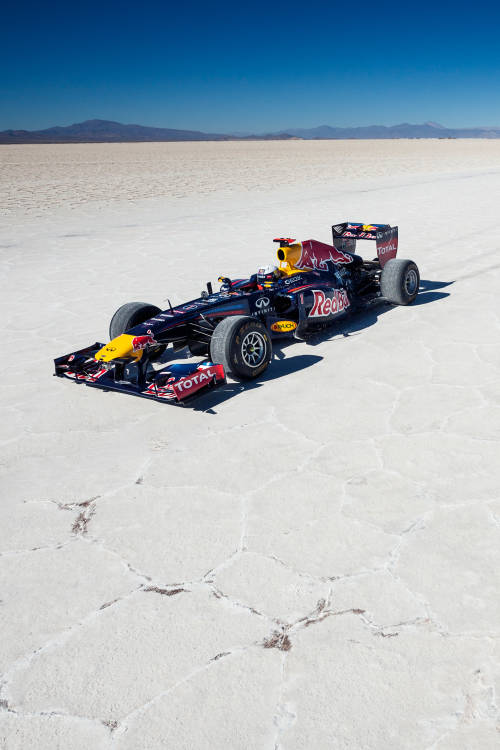F1 Show Run Salt Challenge