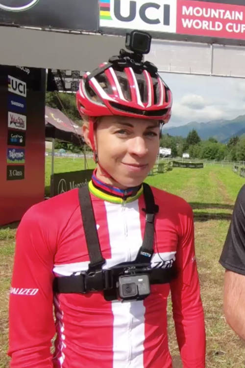 Track talk with Ric and Annika at Val di Sole