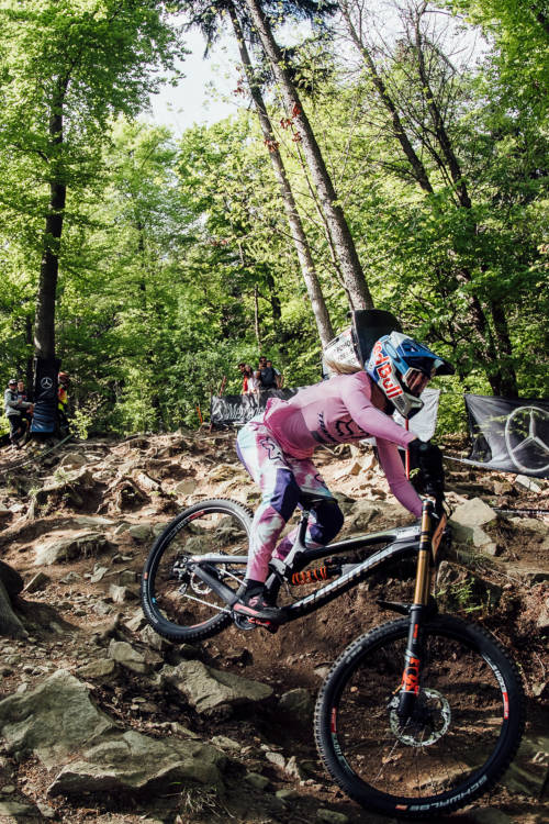 (ES) Women's DH winning run – Maribor