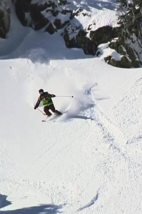 Men's Ski Winning Runs