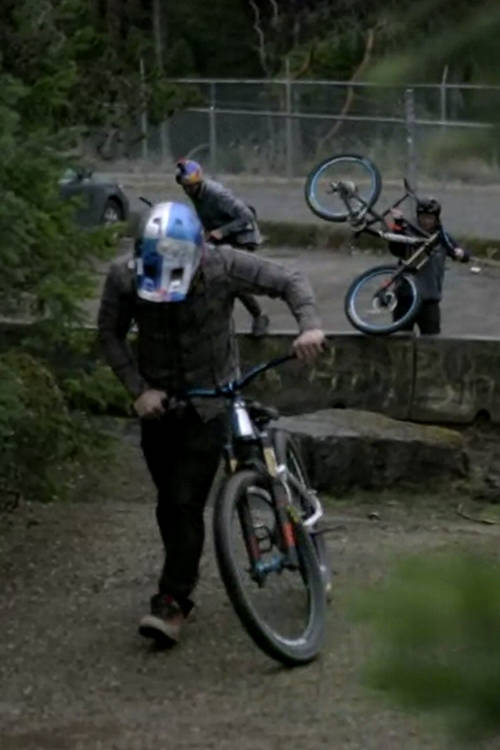 Biking with Berrecloth