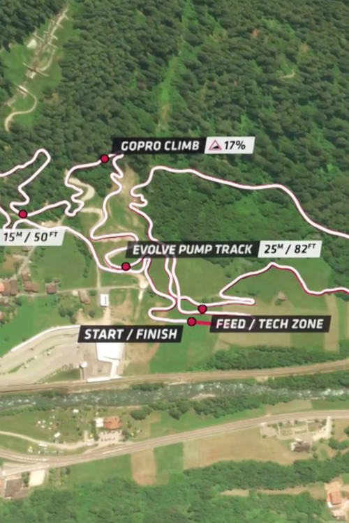 Val di Sole DH track explanation