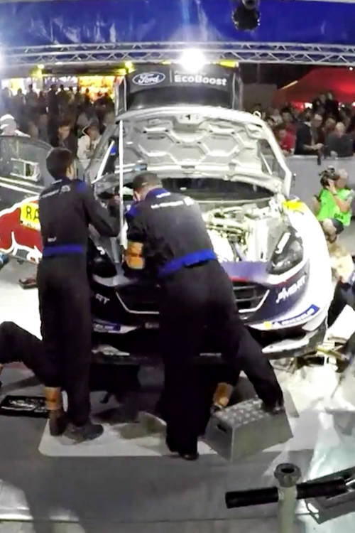 How to set up a WRC car for Spain's tarmac