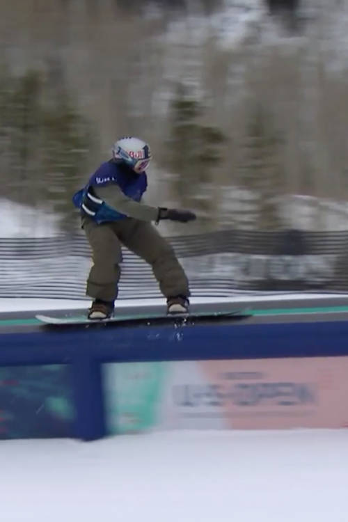 Mark McMorris's slopestyle winning run