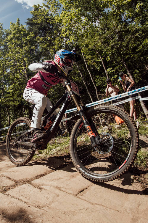 Women's DH 2nd place run, Mont-Sainte-Anne