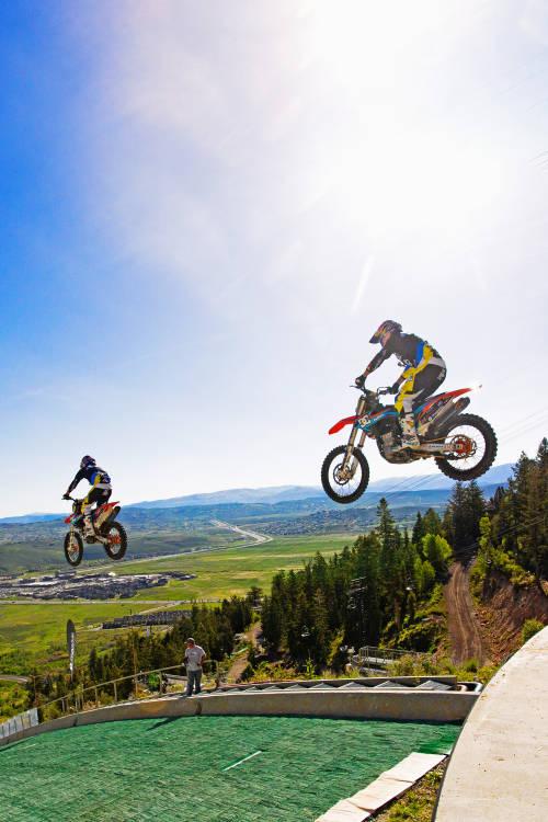 Motorcycle Ski Jump