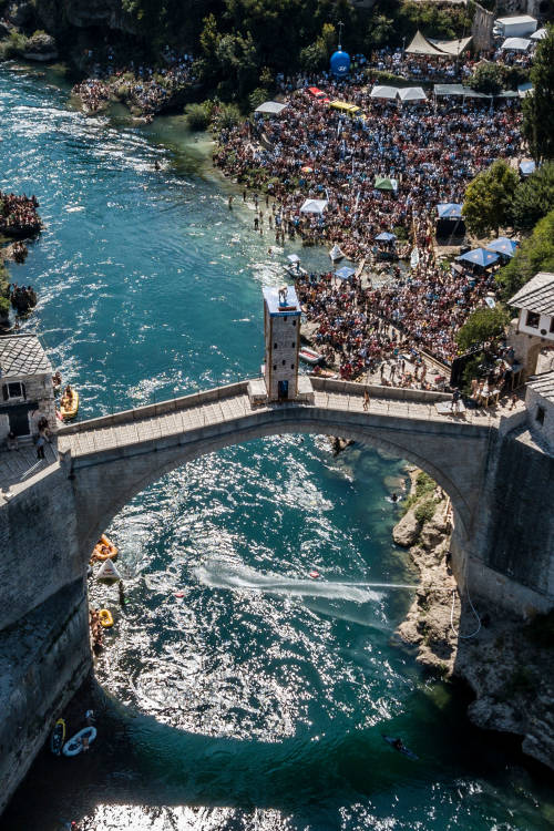 Cliff diving by the numbers