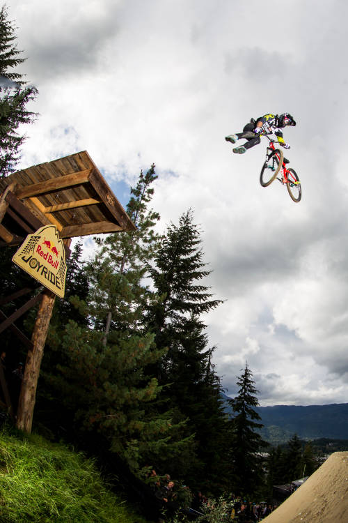 Slopestyle in Whistler