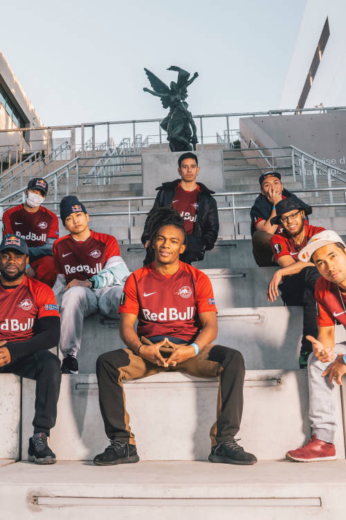 Red Bull BC One All Stars take Paris