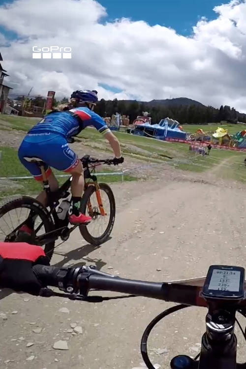 Vallnord XCO Course Training