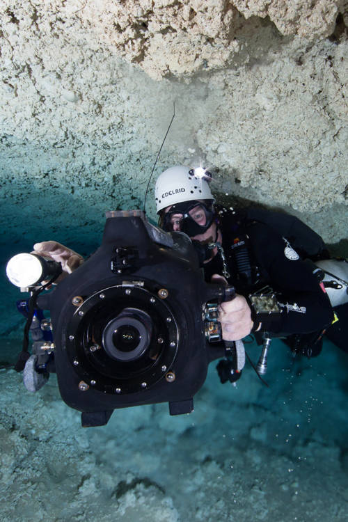 Shooting Underwater Caves