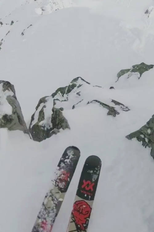 Markus Eder's Ski Run – Verbier