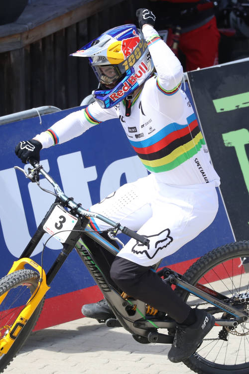 Loïc Bruni's winning DH run – Leogang