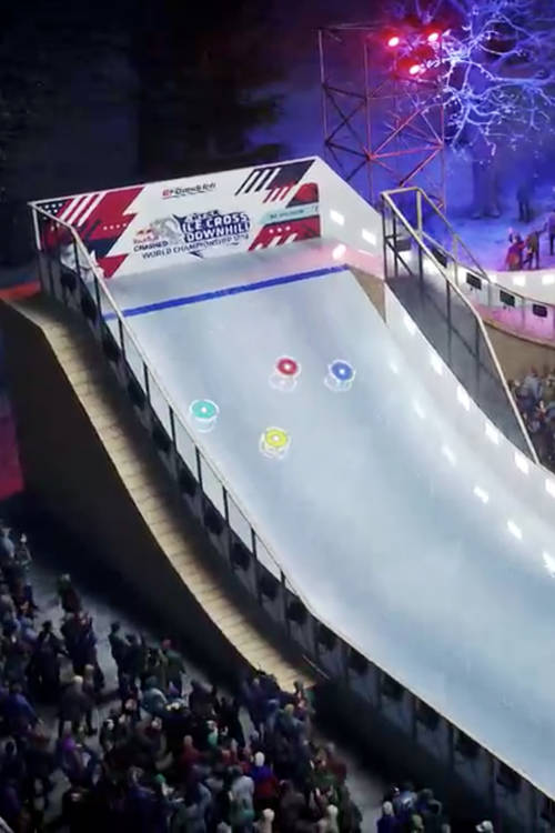 3D track preview – Saint Paul, Minnesota