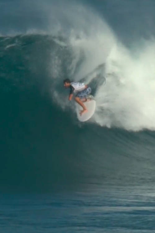 Tomas Lopez Moreno's best wave of round 4