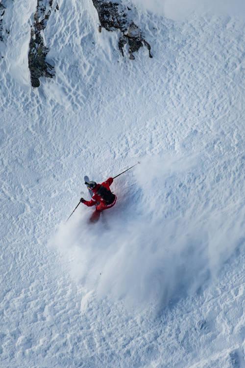 Kristoffer Turdell's POV ski run – Verbier