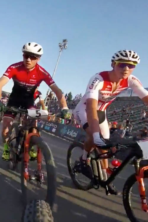 Men's XCC Short Track POV – Nové Město