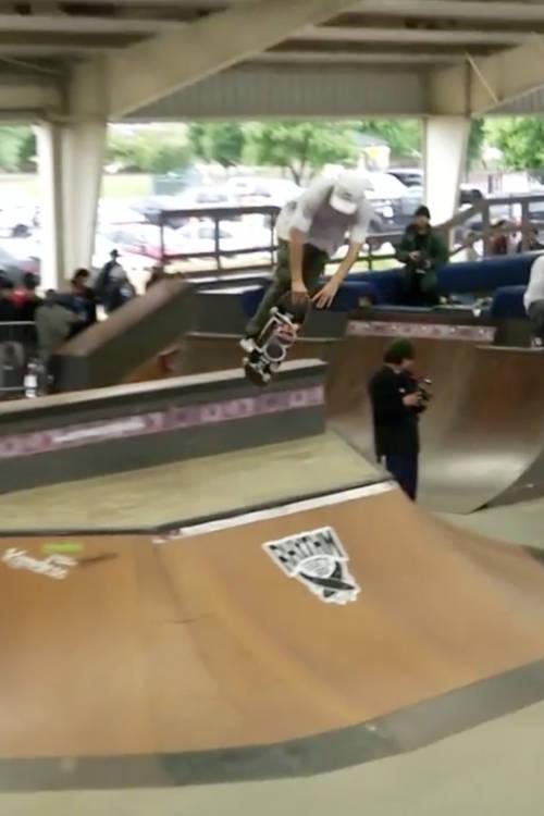Alex Sorgente's big trick