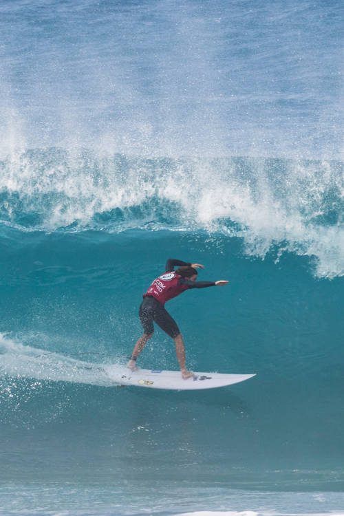 Reef Heazlewood's best wave of the final