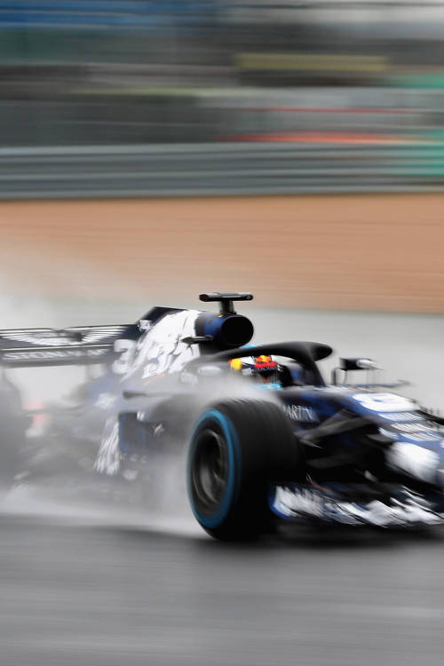 Daniel Ricciardo's RB14 test drive