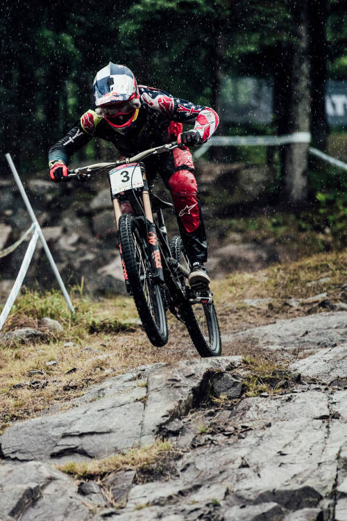 Aaron Gwin's winning run at Mont-Sainte-Anne