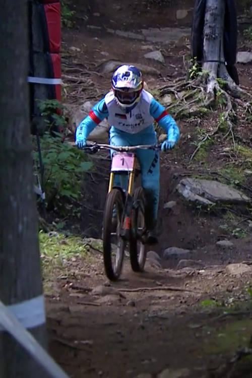 Women's DH qualifying, Mont-Sainte-Anne